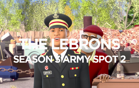 THE LEBRONS ARMY SPOT 2