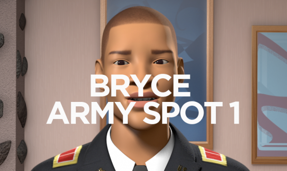THE LEBRONS BRYCE ARMY SPOT 1