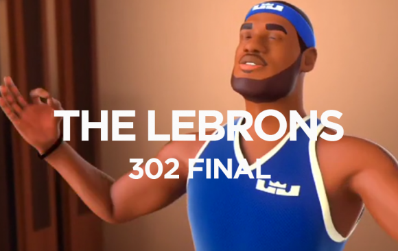 THE LEBRONS 302 FINAL
